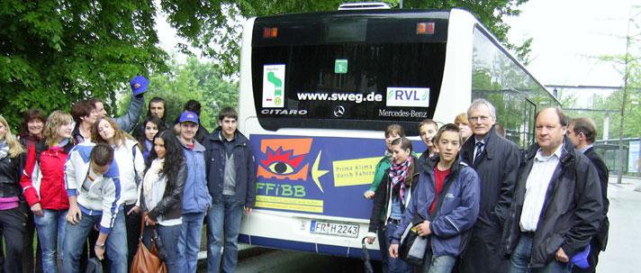 Bus mit Personen
